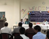Farewell function of First Batch-2011,  6th June 2015